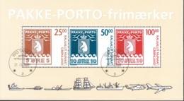 Groenland 2007 Michel Bloc Feuillet 38 O Cote (2013) 55.00 Euro Armoiries Cachet Rond - Blocs