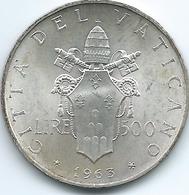 Vatican City - Paul VI - 1963 - 500 Lire - KM83.1 - Vaticaanstad