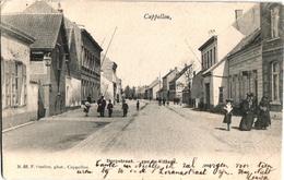 1 Postkaart Kappellen Cappellen Dorpstraat  Rue Du Village - Kapellen