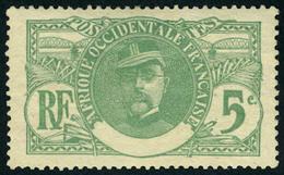 Neuf Avec Charnière N° 24a, 5c Vert Sans Côte D'Ivoire, TB - Stamps