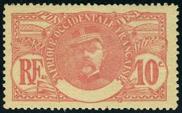 Neuf Avec Charnière N° 25a, 10c Faidherbe, Légende Absente, TB - Stamps