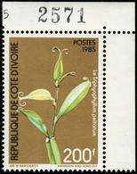 Neuf Sans Charnière N° 726A/C, Les 3 Valeurs Fleurs, Cdf, TB - Stamps