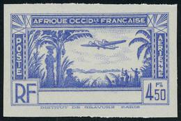 Neuf Sans Gomme 4f50 Bleu Sans La Légente Cote D'Ivoire, ND T.B. - Stamps