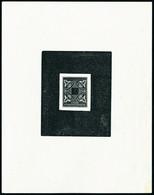 Type De 1915, épreuve D'artiste En Noir Sans Légende Côte D'Ivoire, Valeur Faciale Obturée. T.B. - Stamps