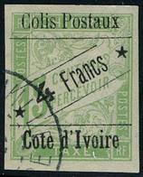 Oblitéré N° 9, 4f Sur 15c Vert TB - Stamps