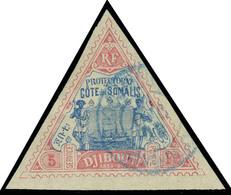 Oblitéré N° 18/19, 2f Et 5f, Vues, TB - Stamps