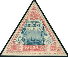 Neuf Avec Charnière N° 19, 5f Rose Et Bleu, T.B. - Stamps