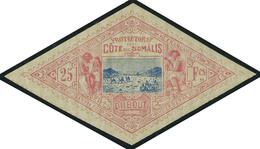 Neuf Avec Charnière N° 20/1, 25 Et 50f Caravane T.B. - Stamps