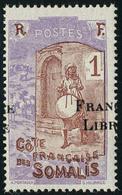 Neuf Sans Charnière N° 193, 1c Surcharge Frange Libre à Cheval, TB - Stamps
