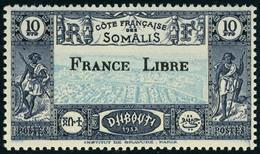 Neuf Sans Charnière N° 204/233, La Série Complète France Libre, TB - Stamps