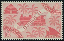 Neuf Sans Charnière N° 235a, 10c Rose Carminé, Double Impression De La Valeur TB - Stamps