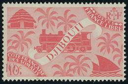 Neuf Sans Charnière N° 235a, 10c Rose Carminé, Double Impression De La Valeur, Lég Froissure De Gomme Aspect T.B. Maury - Stamps