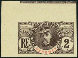 Neuf Sans Gomme N° 19a, 2c Faidherbe Non-dentelé, Cdf, TB - Stamps