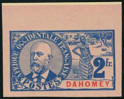 Neuf Sans Gomme N° 31a, 2f Ballay Non-dentelé, Bdf, TB - Stamps