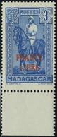 Neuf Sans Charnière N° 243, 3c Bleu France Libre Bdf TB  Maury - Stamps