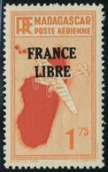 Neuf Sans Charnière N° 46, 1f75 Orange France Libre TB - Stamps