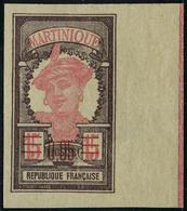 Neuf Avec Charnière N° 88a, 0.05 Sur15c Martiniquaise ND Bdf TB - Unclassified