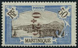 Neuf Avec Charnière N° 107a, + 110a Les 2 Valeurs Surcharge Renversée T.B. - Unclassified