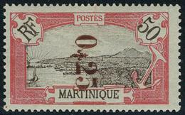 Neuf Avec Charnière N° 109, 025 Sur 50c Rouge T.B. Signé Brun, Calves - Unclassified