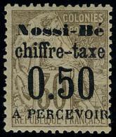 Neuf Avec Charnière N° 3, 0.50 Sur 30c Brun TB - Stamps