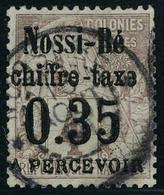 Oblitéré N° 4, 0.35 Sur 4c Lilas Brun Sur G Ris, T.B. Signé JF Brun - Stamps