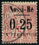 Oblitéré N° 15/17, 0.10, 15 Et 0.25, Les 3 Exemplaires, TB - Stamps
