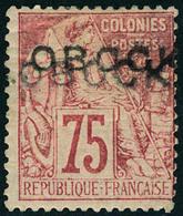 Neuf Avec Charnière N° 19aB, 75c Rose, Double Surcharge,  T.B. Rare, Signé. - Francobolli