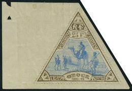 Neuf Avec Charnière N° 63, 25 Bistre Et Bleu Grand Bdf T.B. Signé Gilbert - Francobolli
