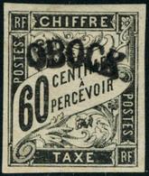 Neuf Avec Charnière N°4. 60c Noir. T.B. Signé Brun - Stamps
