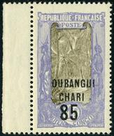 Neuf Sans Charnière N° 68a, 85 S/1f Sans La Surcharge AEF, TB - Stamps