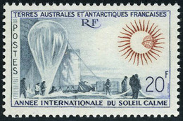 Neuf Sans Charnière N° 21, 20f Soleil Calme, T.B. - Stamps