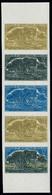 Neuf Sans Charnière N° 29, 12f Philica, Bande De 5ex ND, Essais De Couleurs, Bdf, Superbe - Stamps