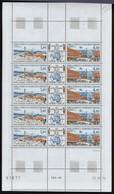 Neuf Sans Charnière N° 43A, Feuille Complète De 5, Triptique, CD 15.11.75, T.B. - Stamps
