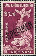 Oblitéré N°19 + PA N°1/3 Et 4/8 Tous Avec Surcharge Specimen. T.B. - Stamps