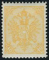Neuf Avec Charnière N° 19, 40h Orange, T.B. - Stamps