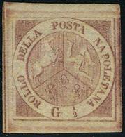 Neuf Avec Charnière N° 1, 1/2 G Rose, Superbe, Signé Oliva Et Roig, Sassone 1 : 4500 € - Stamps