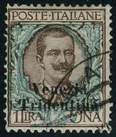 Oblitéré N° 27, 1l Brun Et Vert TB Sassone 27 : 225 € - Stamps