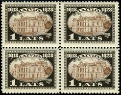 Neuf Sans Charnière N° 137/42, 10 Séries En Blocs De 4 Ou Paires, TB - Stamps