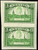 Neuf Sans Charnière N° 190/94, 5 Paires De Séries Complètes Non-dentelées (10 Séries), TB - Stamps
