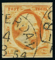 Oblitéré N° 3, 15c Orange, T.B. - Unclassified
