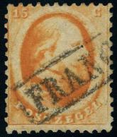 Oblitéré N° 6, 15c Orange, T.B. - Unclassified