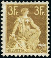 Neuf Avec Charnière N°127. Le 3f Bistre Et Jaune. T.B. - Stamps