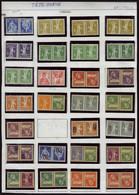 Neuf Sans Charnière Helvetia + Guillaume Tell + Arbalette, Série Complète De 28 Paires Tête Bêche T.B. Cat Suisse K1/K27 - Stamps