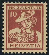 Neuf Sans Charnière N° 151/6, Les 2 Séries Pro Juventute, T.B. - Stamps