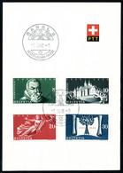 Lettre N° 453,454/456 Oblitérés 1.III.48 + N° 457/60, 471/73, 474/76, 477/80, 493/96, Chaque Série Avec Oblitération FDC - Stamps