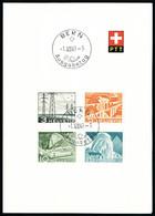 Lettre N° 481/92, La Série De 12 Valeurs Avec Oblitération FDC Différentes Sur 3 Feuillets De L'administration Postale,  - Stamps