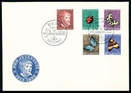 Lettre N° 526/30, 539/43, 541a, 544/47, 548/52, 553/57, Chaque Série Avec Oblitération FDC Sur Enveloppe, La Plupart LR, - Stamps