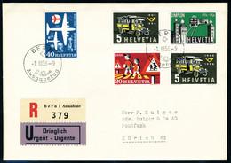 Lettre N° 572/75, 576/80, 581/85, 586/89, 590/94, 595/96, 597/601, 602/605, 606/10, Chaque Série Avec Oblitération FDC S - Stamps