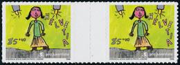 Neuf Sans Charnière N° 1913/6, Pro Juventute 2006 Série Autocollant En Paire Interpanneau T.B. Cat Suisse S 82/85 : 600  - Stamps