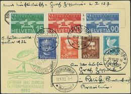 Lettre Zeppelin 6 SAF 1932 Pour Le Brésil TB - Stamps